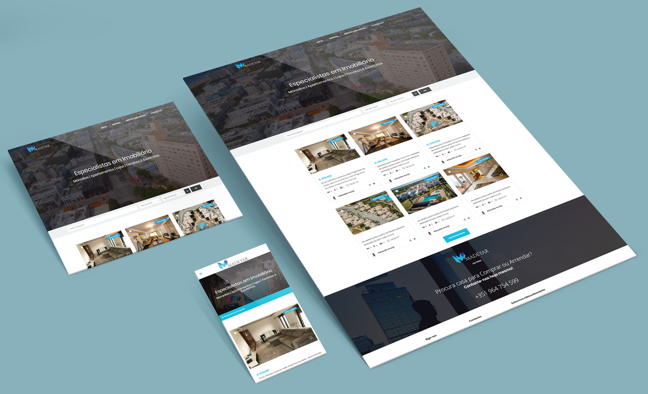 Madeyar Website