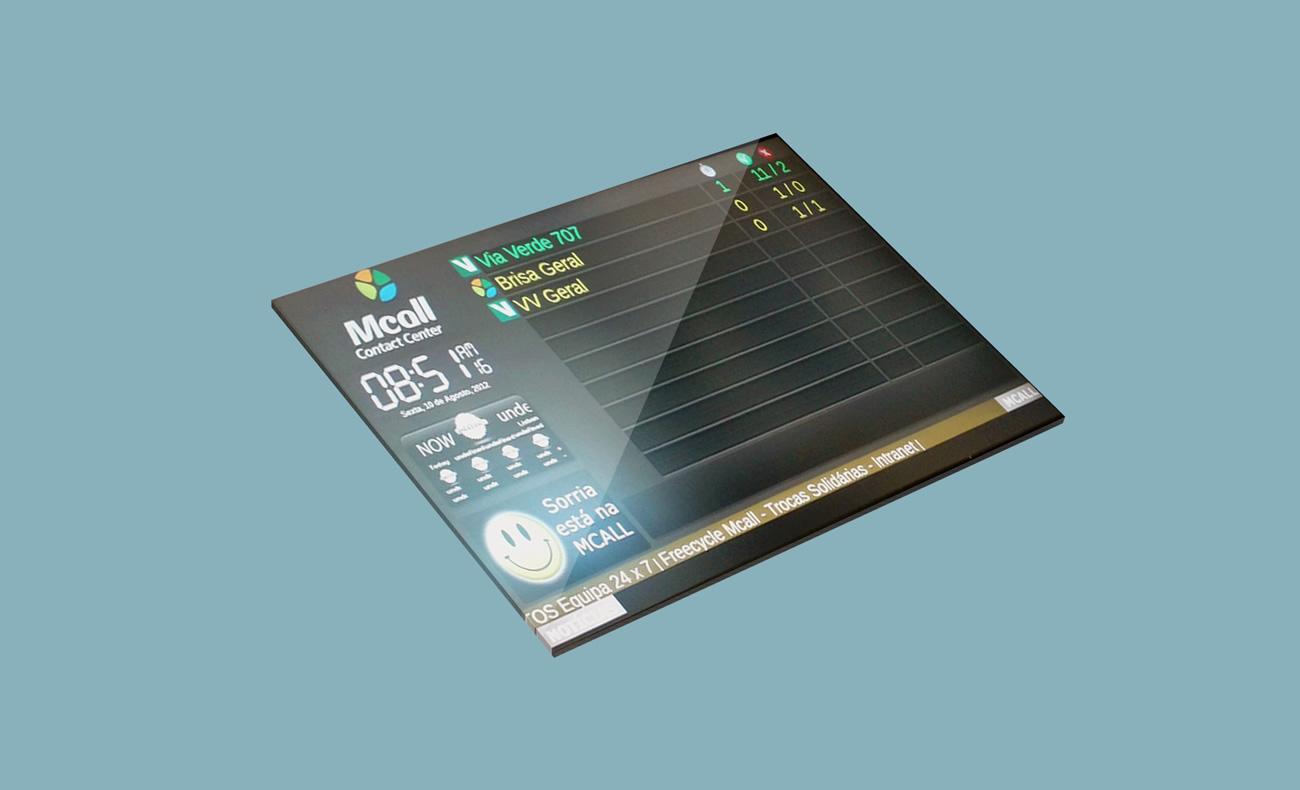 mcall dashboard